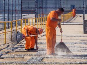 тюремные работы
